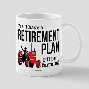 Farming Retirement Plan Mugs