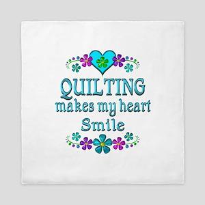 Quilting Smiles Queen Duvet