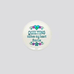 Quilting Smiles Mini Button