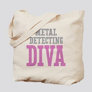 Metal Detecting DIVA Tote Bag