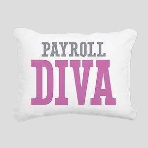 Payroll DIVA Rectangular Canvas Pillow