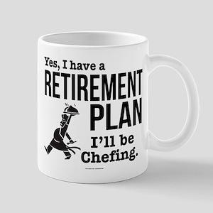 Chef Retirement Plan Mugs