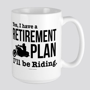 Riding Retirement Plan Mugs
