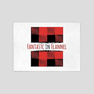 Fantastic Flannel 5'x7'Area Rug