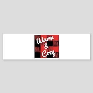 Warm & Cozy Bumper Sticker