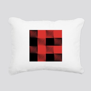 Plaid Pattern Rectangular Canvas Pillow