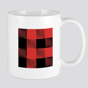 Plaid Pattern Mugs