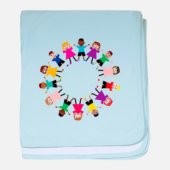 Circle Of Friends baby blanket