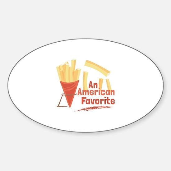 American Favorite Decal