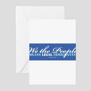 Immigration Greeting Cards