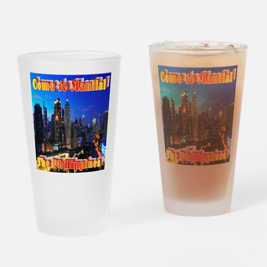 Come to Manila Drinking Glass