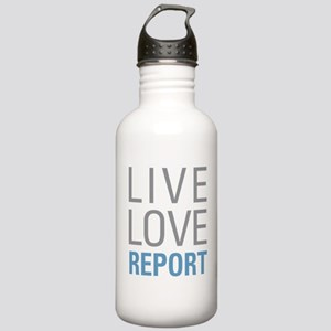 Live Love Report Stainless Water Bottle 1.0L