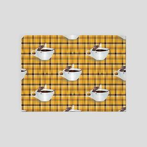 coffee rats 5'x7'Area Rug