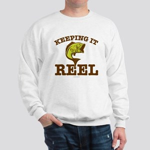 Keeping It Reel Fishing Sweatshirt