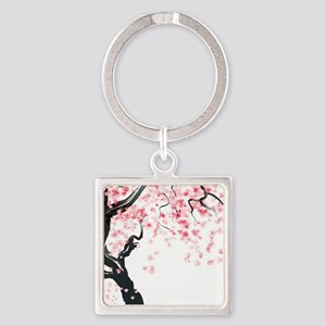 Japanese Cherry Tree Keychains