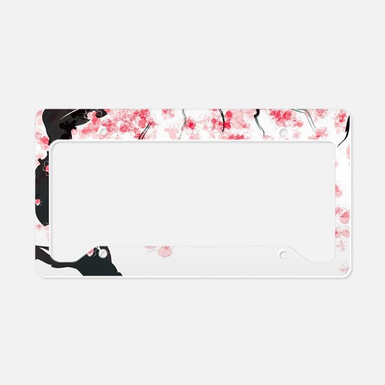 Japanese Cherry Tree License Plate Holder