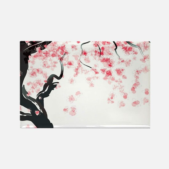 Japanese Cherry Tree Magnets
