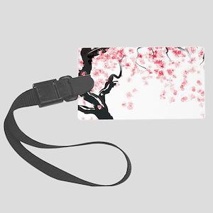 Japanese Cherry Tree Luggage Tag