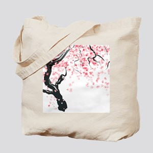 Japanese Cherry Tree Tote Bag