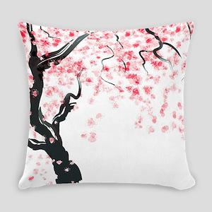 Japanese Cherry Tree Everyday Pillow