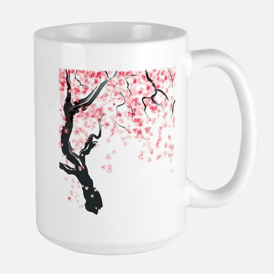 Japanese Cherry Tree Mugs