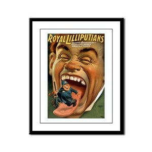 Royal Lilliputians Framed Panel Print