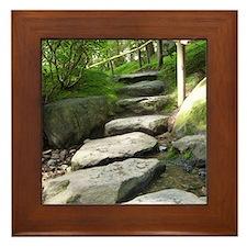 Stepping Stones Framed Tile