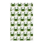 Blue Crab Pattern Area Rug