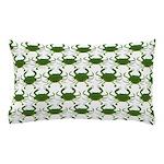 Blue Crab Pattern Pillow Case