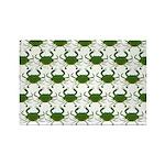 Blue Crab Pattern Magnets