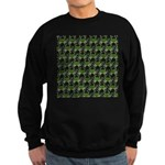Blue Crab Pattern Sweatshirt