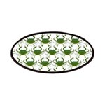 Blue Crab Pattern Patch
