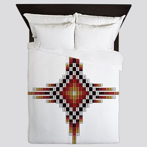 Native Style Hot Radiant Sun Queen Duvet
