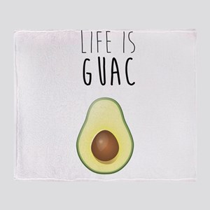Life is Guac Throw Blanket