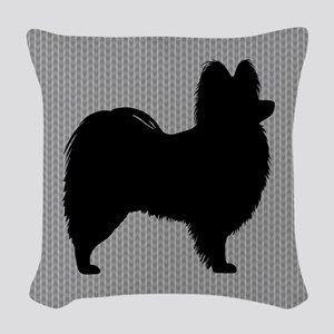 Papillon Woven Throw Pillow