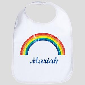Mariah vintage rainbow Bib