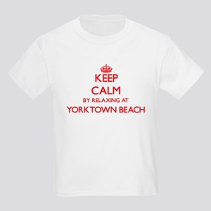 Keep calm by relaxing at Yorktown Beach Vi T-Shirt