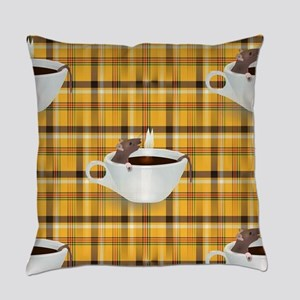 coffee rats Everyday Pillow