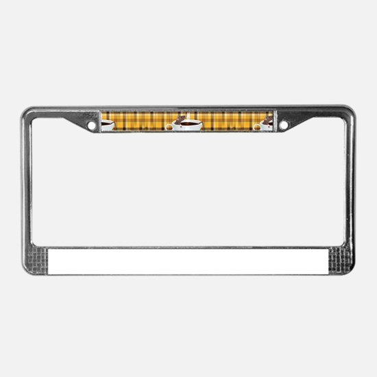 coffee rats License Plate Frame