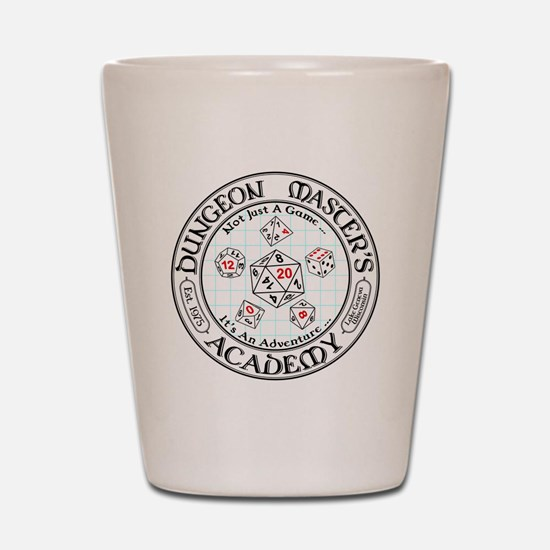 Dungeon Master's Academy Shot Glass