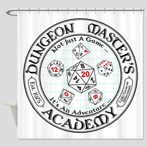 Dungeon Master's Academy Shower Curtain