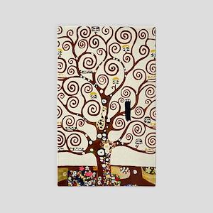Klimt tree of life Area Rug