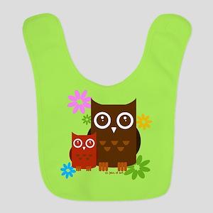 Owls Bib