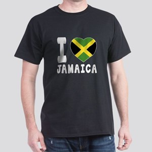 I Love Jamaica Dark T-Shirt