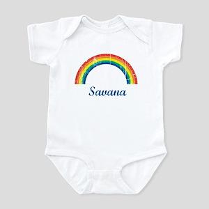 Savana vintage rainbow Infant Bodysuit