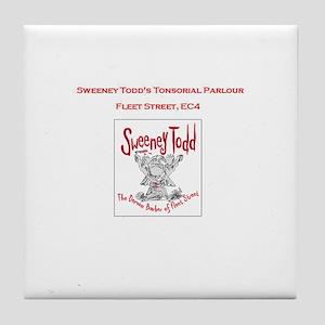 Sweeney Tile Coaster