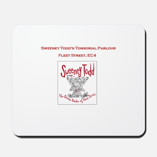 Sweeney Todd Forum Official Mousepad