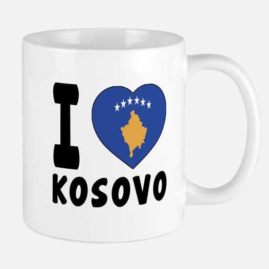 I Love Kosovo Mug