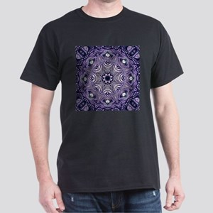 romantic bohemian purple mandala T-Shirt