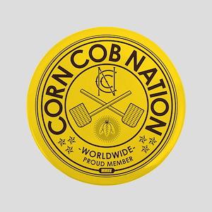 "Corn Cob Nation 3.5"" Button"